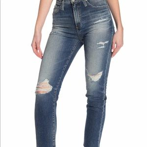 AG The Phoebe Vintage High-Waisted Jeans